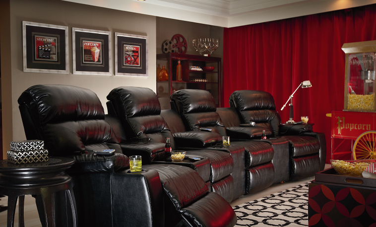 Excellent Home Theater Lazboy Home Interior And Landscaping Oversignezvosmurscom